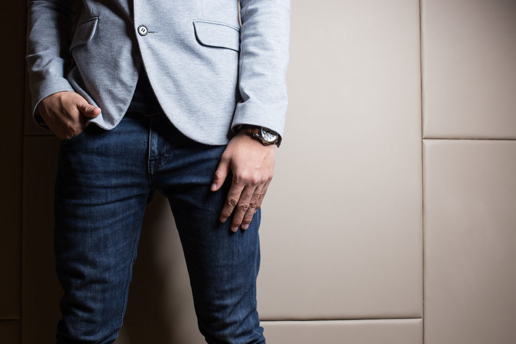 Fashion for Men | How to Wear Dark Denim