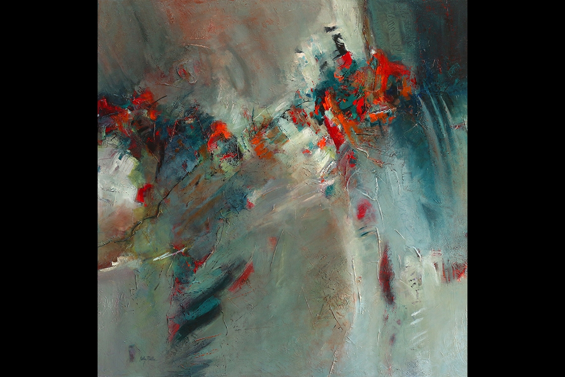 Luna Fine Art Gallery | Blues Infused, by Sally Miller