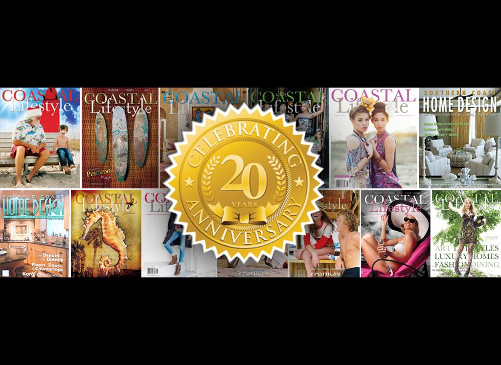 Coastal Lifestyle Magazine's 20th Anniversary