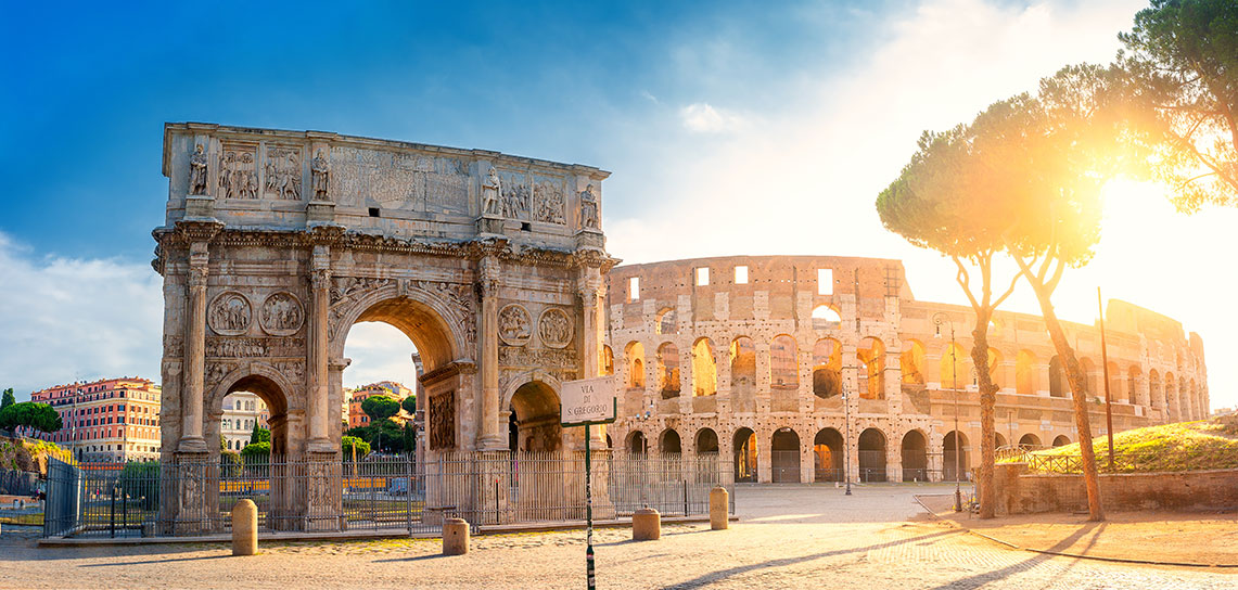 Travel | Europe - Arch of Constantine