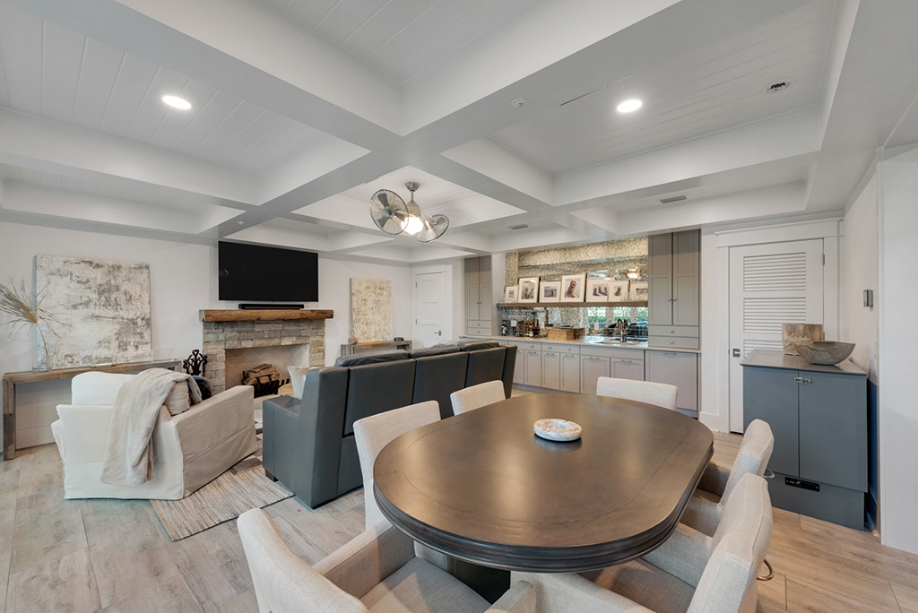 Tim Baker Home - The Quintessential Man Cave