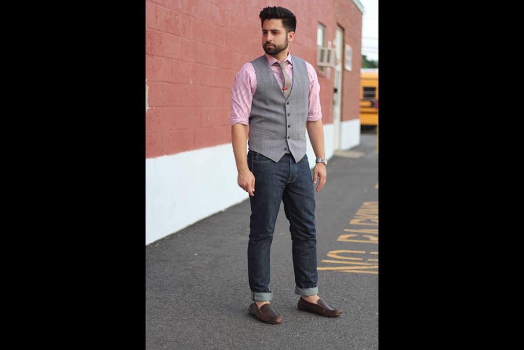Fashion for Men | How to Wear Dark Denim