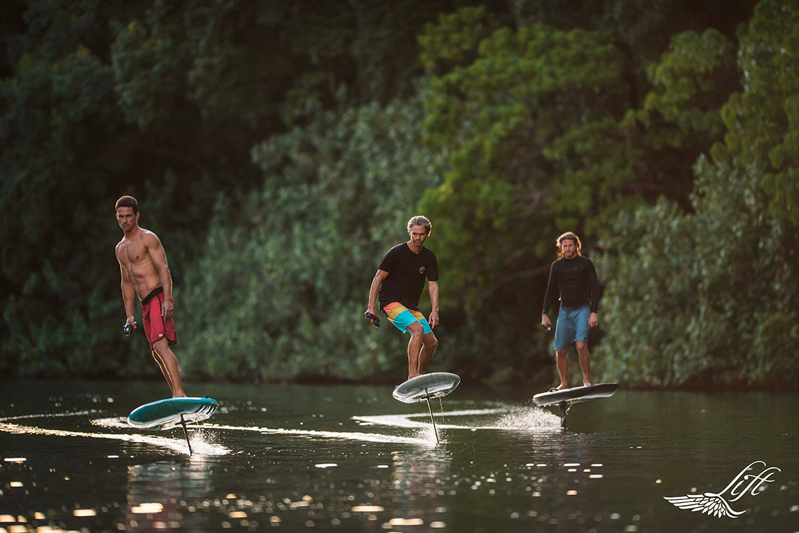 Foilboarding Changes the Face of Water Sports
