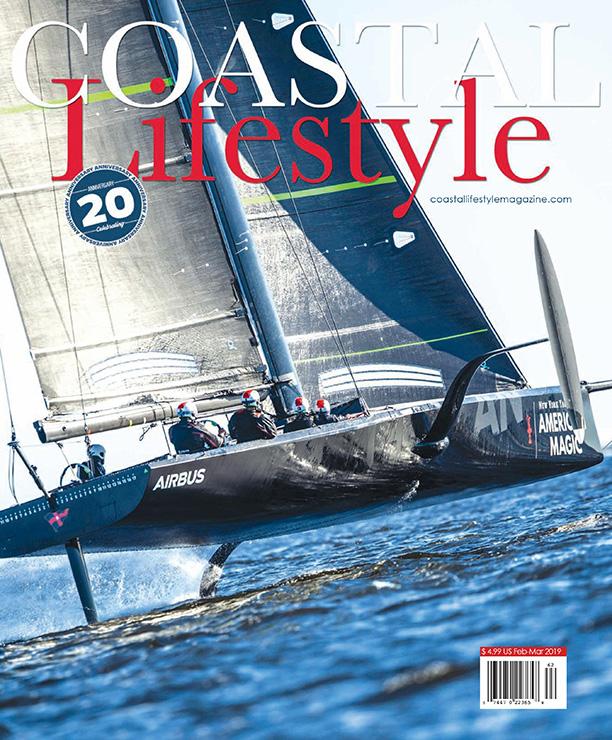 Coastal Lifestyle Magazine Cover - February/March 2019