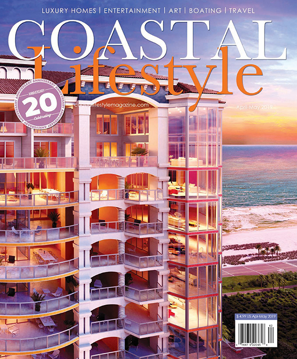 Coastal Lifestyle Magazine Cover - April/May 2019