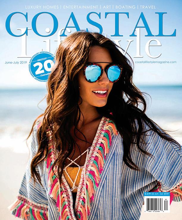 Coastal Lifestyle Magazine Cover - June/July 2019